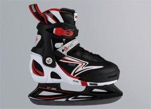 Sport-2000-v300-semisoftskate-eH-patins--glace-Noirrouge-29-32