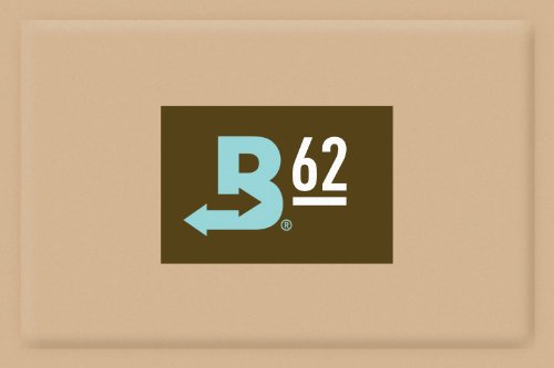 Boveda 62-Percent RH Retail Cube Humidifier/Dehumidifier, 60gm, 12-Pack