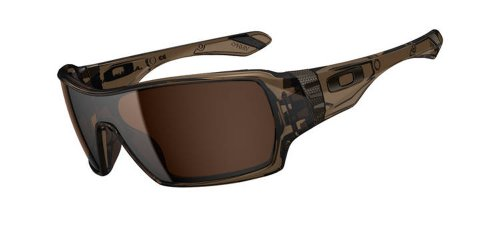 Oakley Offshoot Oo9190-02 Wrap Sunglasses,Brown Smoke,55Mm