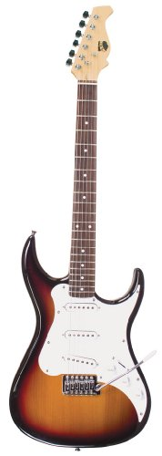 Axl Headliner Double Cutaway Electric Guitar, Sunburst