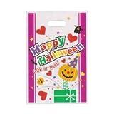 【ハロウィン包装資材】2012LDカラーポリ Kタイプ SS大(20枚入)  / お楽しみグッズ(紙風船)付きセット