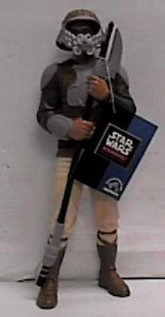 """Star Wars Classic Collector Series 10"""" Lando Calrissian Skiff Guard Vinyl Doll by Applause - 1"""
