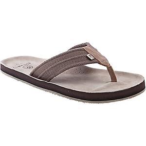 Ocean Minded Scorpion Men's Sandal/Flip Flops/Slipper Footwear - Brown / Size 07