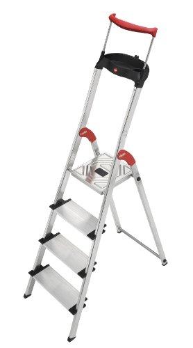 Hailo XXR 150 kg Capacity Aluminium Deluxe Comfort Steps (4 Steps)