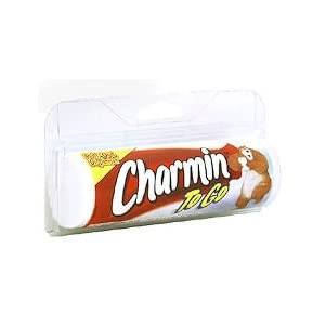 Charmin To Go 1 ply Bathroom Tissue 210 In X 4.5 In - 55 Sheets