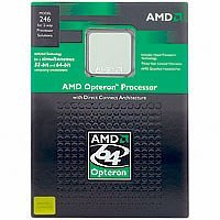 Processor - 1 x AMD Dual-Core Opteron 175 / 2.2 GHz - Socket 939 - L2 2 MB ( 2 x 1 MB ) - Box