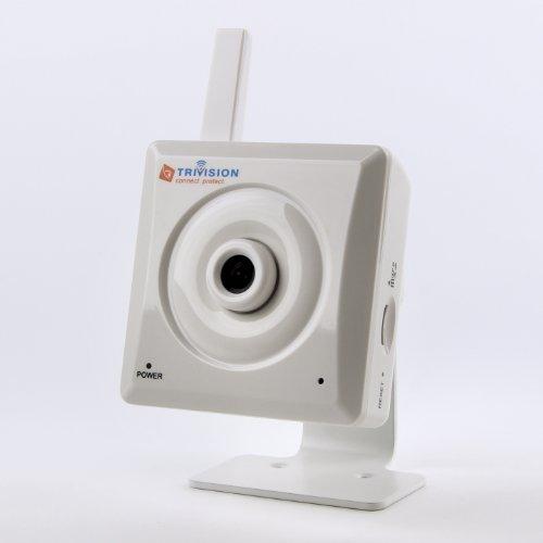 TriVision Mpeg4 Indoor Nachtsicht Wired Wi-Fi Wireless 802.11n IP Kamera mit built-in DVR Netzwerk Überwachungskamera