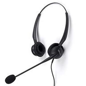 GN Netcom 2100 Duo Flex-Boom SL - Auriculares con micrófono (con cancelación de ruido)