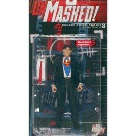Secret Files Series 2 Unmasked: Clark Kent/Superman Action Figure (Superman Clark Kent Action Figure compare prices)