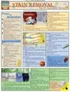 Stain Removal Laminated Reference Guide (Quickstudy: Home)