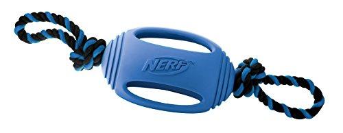 Bild von: Nerf Dog VP6734E Tuff Tug - Gummispielzeug mit Tau, 45.5 cm, blau