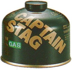 キャプテンスタッグ(CAPTAIN STAG) レギュラーガスカートリッジ CS-250 M-8251