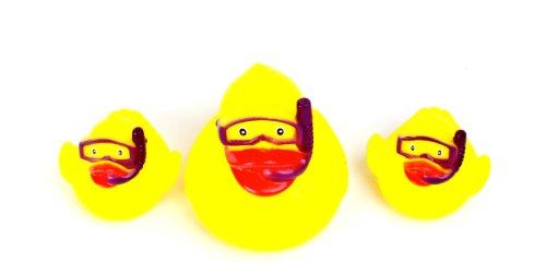 Vital Baby Play 'n' Splash Rubber Family, Ducks, 1-Pack (3 Bath Toys in Total)