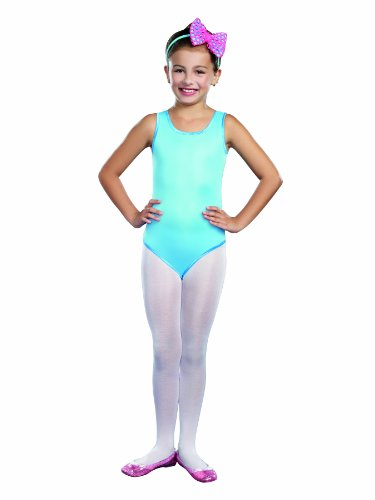 SugarSugar Leotard Turquoise Costume, Large - 1