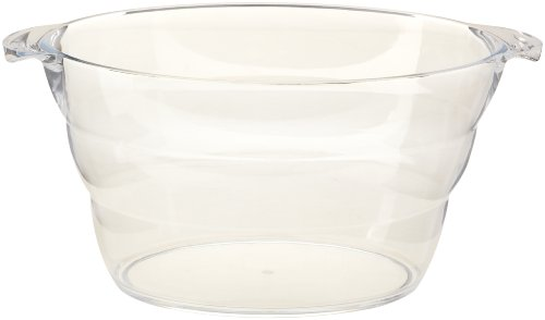 Prodyne AB-16 Acrylic Wine Party Tub, Clear (Beer Bucket Plastic compare prices)