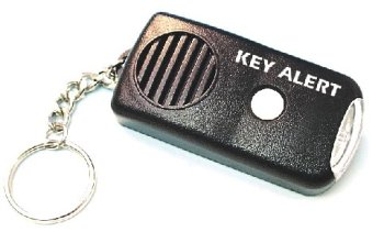 Personal Alarm with Flashlight, Key Ring