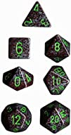 Polyhedral 7-Die Speckled Dice Set -…