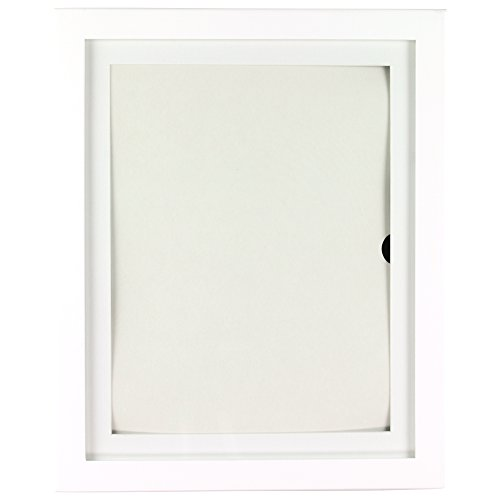 Child Artwork Frame - Lil DaVinci Artwork Display Cabinet/Frame, 9 x12 - White (Picture Frames Lil Davinci compare prices)
