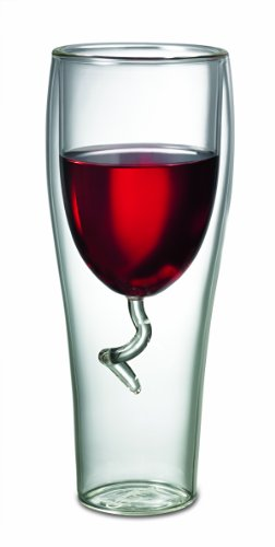 Starfrit Gourmet 8-Ounce Double Wall Wine Glass