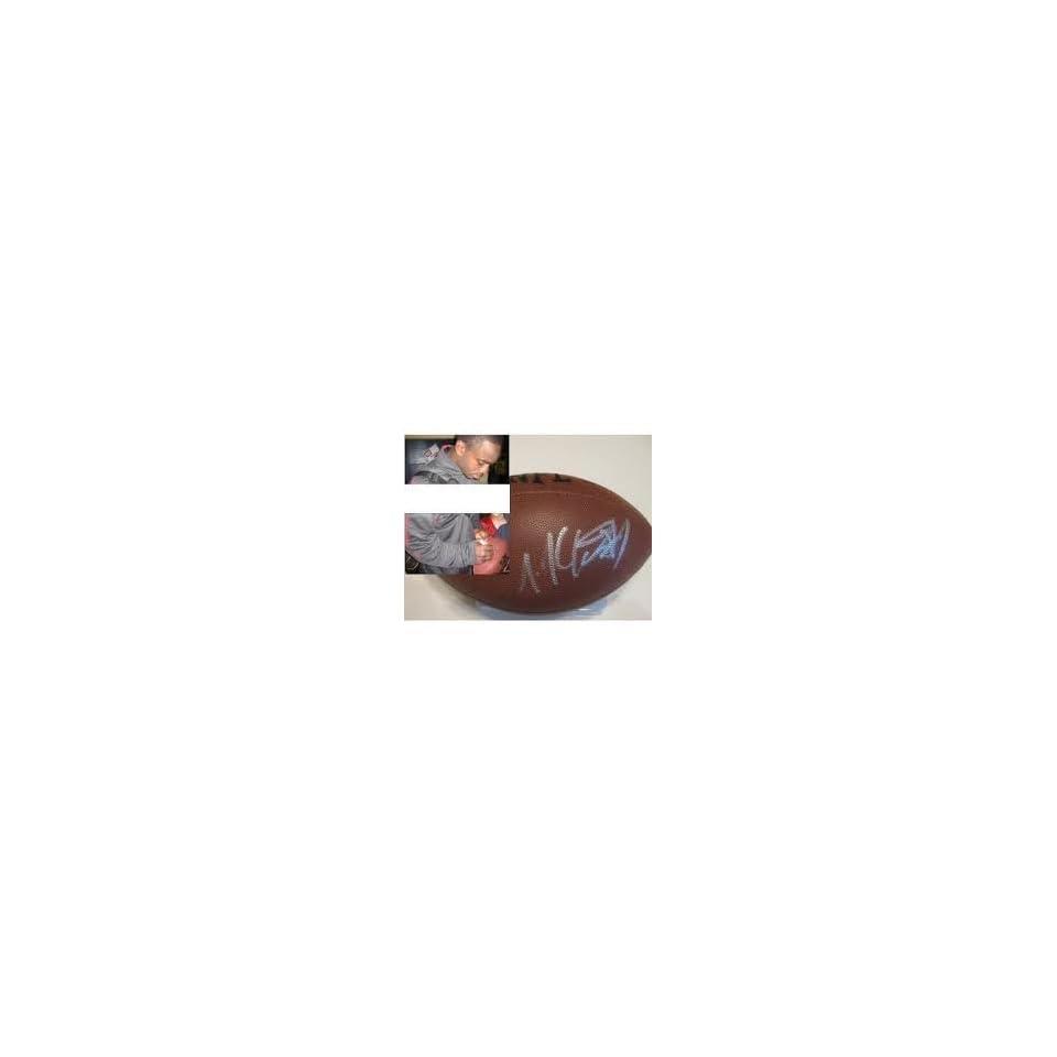 Joe Mcknight Jets Autographed Hand Signed Nfl Football   New York Jets