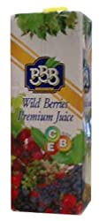 Wild Berry Juice (BBB) 1L