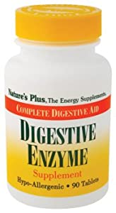 Nature's Plus - Digestive Enzyme, 90 tablets