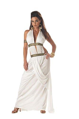 [POPLife Spartan Queen 300 Roman Greek Adult Costume] (Spartan 300 Halloween Costumes)