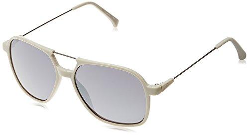 Calvin Klein Jeans Mirrored Rectangular Unisex Sunglasses (CKJ-401-S-007_58)
