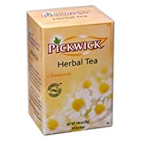 Pickwick Herbal Tea, Chamomile, 20 Ct Box (Pack of 6)