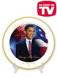 Obama Victory Collectible Plate