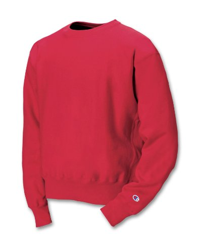Champion S149 Adult Reverse Weave Crew - Scarlet, Small