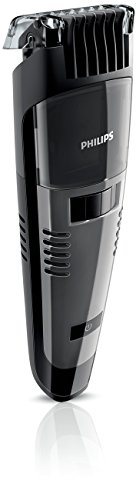 Philips QT4050/32 Vacuum Beard & Moustache Trimmer with Contour Following Comb