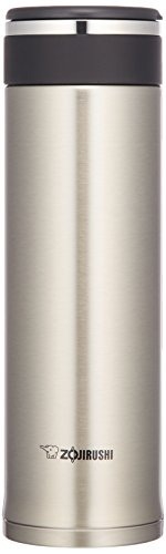 【Amazon.co.jp限定】象印 水筒 直飲み ステンレスマグ 480ml ステンレスシルバー SM-JB48AZ-XA
