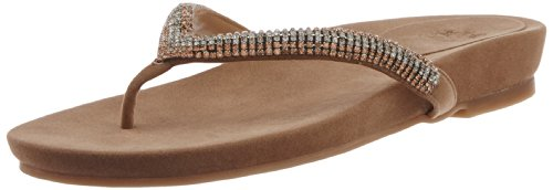 Saint.G Women's Alexia Natural Leather Slippers (beige\/sand\/tan)