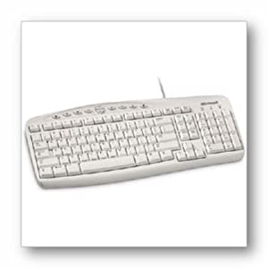 Microsoft Wired Keyboard ( White)