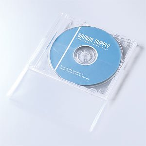 SANWA SUPPLY FCD-PT30N プラケース保護袋(10mmサイズ用)