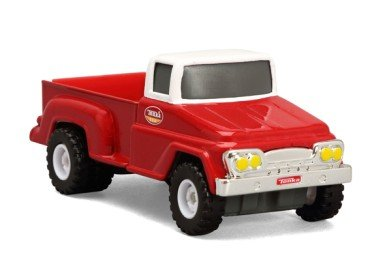 Tonka Metal Diecast Bodies - Vintage Transporter City Defenders Pick-Up Truck 1:55 Scale - 1