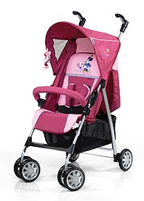 hauck 120323 liegebuggy sprint 6 original minnie pink baby. Black Bedroom Furniture Sets. Home Design Ideas