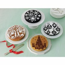 Martha Stewart Crafts Holiday Cake Stencils