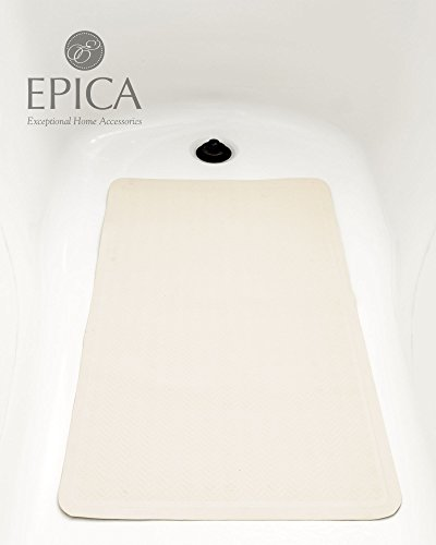 "Anti-Slip Anti-Bacterial Bath Mat 16"" x 28"""