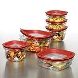 Rubbermaid 7J12 Premier 20-Piece Food-Storage Container Set