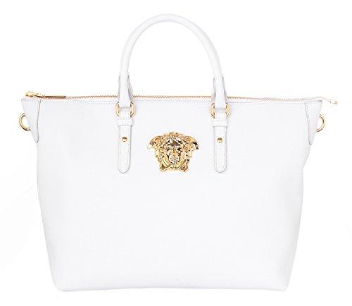 Versace, Borsa a mano donna, Bianco (bianco), one size
