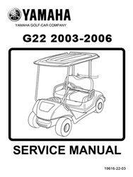 yamaha g22 golf cart service repair manual. Black Bedroom Furniture Sets. Home Design Ideas