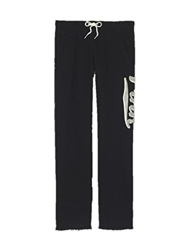 victorias-secret-womens-pink-boyfriend-pant-small-embroidered-black
