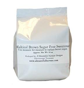 Brown Sugar Maltitol Crystals Sugar Free