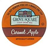 Grove Square CARAMEL HOT APPLE CIDER - 12 Single serve cups