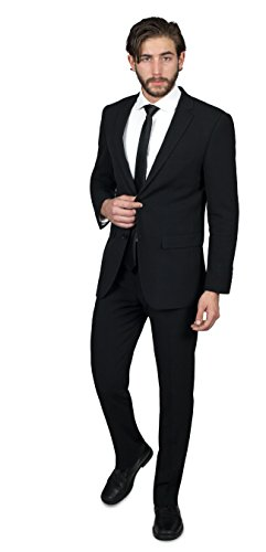 Alain-Dupetit-Mens-Two-Button-TR-StretchTech-Suit-in-Many-Colors