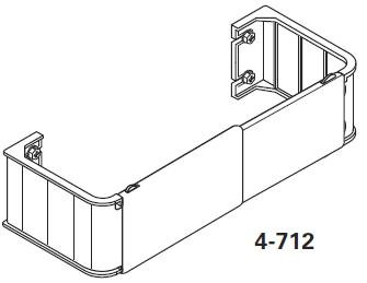 Graber 2 1 2 Inch Wide Pocket Curtain Rod 48 To 84 Inch Adjustable Width White Home Garden