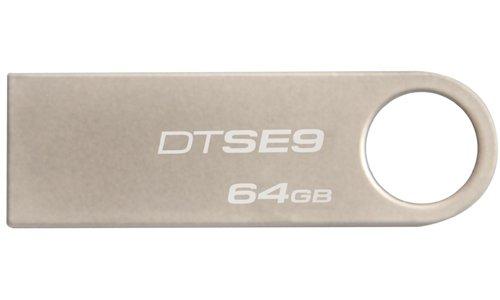 Kingston Digital Datatraveler Se9 64Gb Usb 2.0 Flash Drive (Dtse9H/64Gb) front-977780