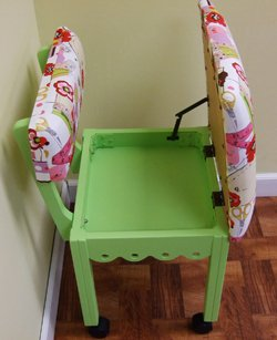Arrow Painted Sewing Chair